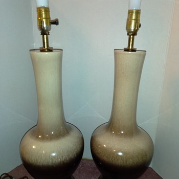Vintage Mid Century Modern Lamps - Lamps