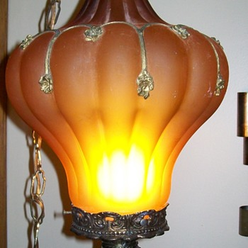 Bought at a garage sale, No clue as to what is is, heavy! - Lamps