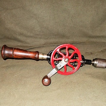 Millers Falls Hand Drill No 2 129-1930 - Tools and Hardware