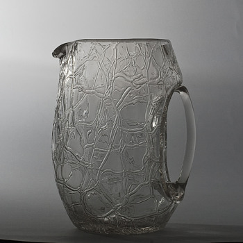 Koloman Moser jug for Loetz - Art Glass