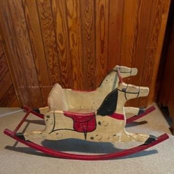 Early rocking horse - Animals