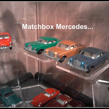 Some of my favorite Matchbox cars/trucks....  They were great times...Playing with them as a kid! - Model Cars