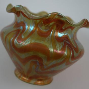 Loetz  Lamp Shade, Phänomen Genre 1/104, PN unknown, ca. 1901 - Art Glass