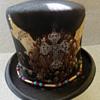 Vintage Late 60s Charlie 1 Horse Embellished Hippie / Biker Hat