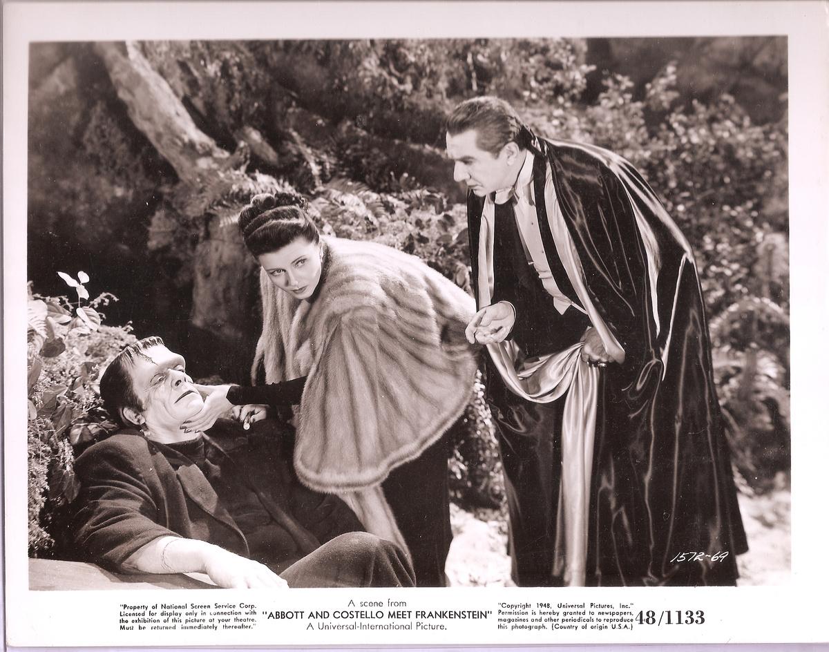 1948 abbott and costello meet frankenstein movie still for Domon et costello