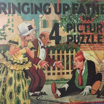 Bringing Up Father in 4 Picture Puzzles