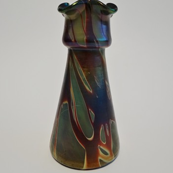 "Rindskopf - ""Double marbling""  - Art Glass"