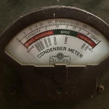 Allen Condenser Meter - Petroliana