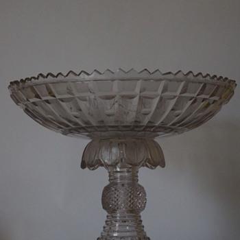 Bowl on Stand circa.1820 - Art Glass
