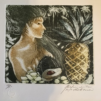 Cuban Art Print - Artist? - Fine Art