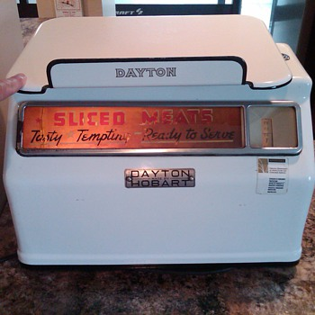 Dayton deli-grocery weight scale