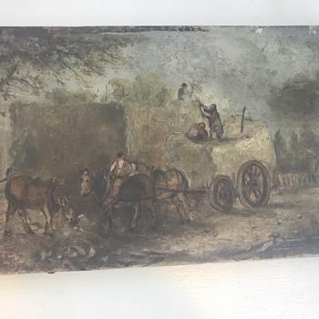 Old Oil Canvas ?  Turner  - Fine Art