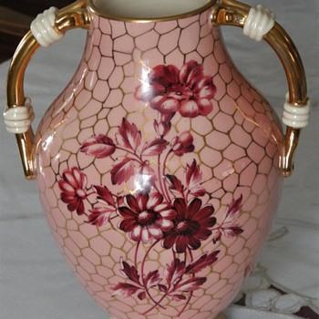 MCM Italian vase Fiorentino? unknown mark. - Pottery
