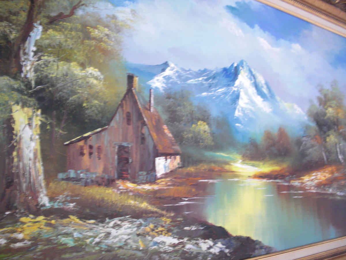 Amazing landscape oil paintings for Beautiful canvas painting