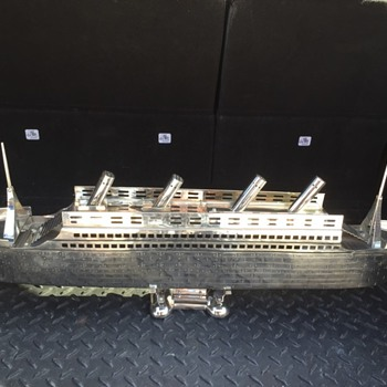 super cool stainless ship huge - Toys