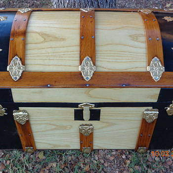 Refinished Antique Trunk - Furniture