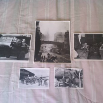 Original WW2 U.S. Fighter Plane And Pilots Photos - Military and Wartime