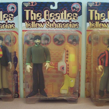 The Beatles Yellow Submarine Figures! - Music Memorabilia