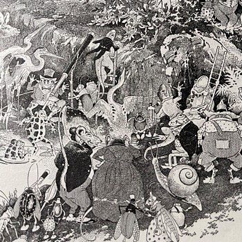 A Woodland Serenade by Harrison Cady, Private Journey, and Lots of Old Cars - Paper