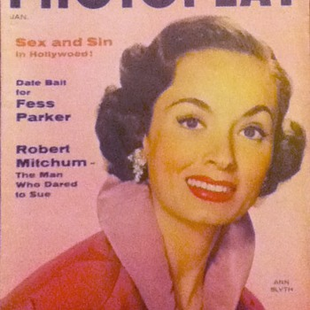 Photoplay - January 1956 - Paper