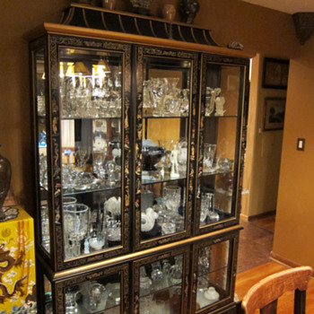 One Display case - clear glass - Art Glass