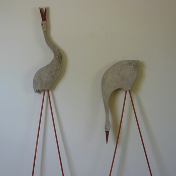 Folk Art Birds Straight from the Garden - Folk Art
