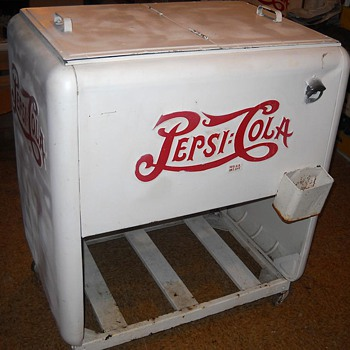 My Old Pepsi Cooler - Advertising