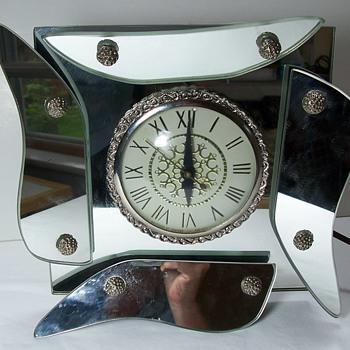 Lanshire Clock possibly Hollywood Regency - Clocks