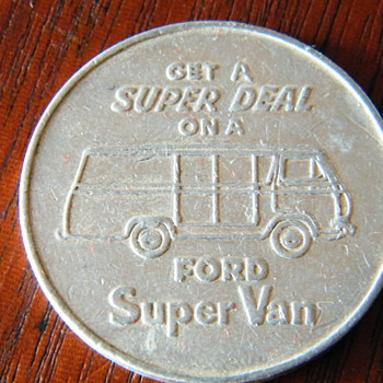 Ford Super Van - US Coins