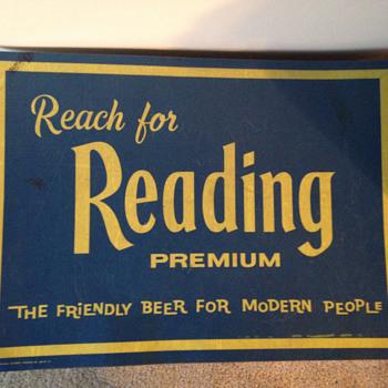 Reading Premium Beer Mat