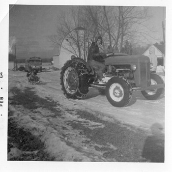 1964 Childhood Memories .... Winter Fun on the Farm in Northern WI - Photographs