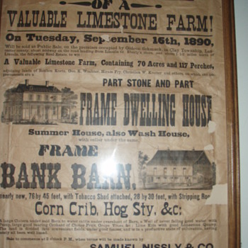 early auction advertisements - Advertising