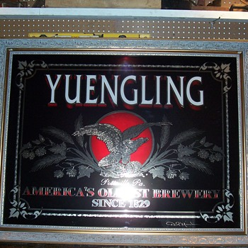 Yuengling bar signs - Breweriana