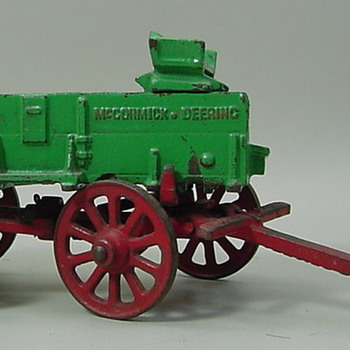 McCormick Deering Farm Wagon - Model Cars