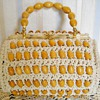 WALBORG ITALY CROCHET BEAD BAG