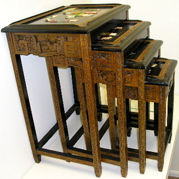 Chinese Nesting Tables - Furniture
