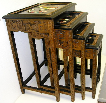 Chinese Nesting Tables Collectors Weekly