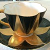 Handpainted Shelley tea cup and saucer