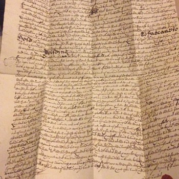 Interesting Old letters in lovely old English 1600's