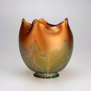 Loetz Unknown Phänomen Genre Art Glass Shade - Art Glass
