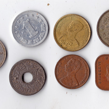 Another set of 7 - World Coins