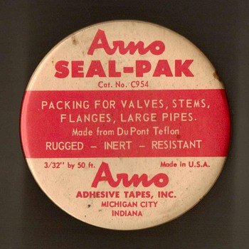 "Arno ""Seal-Pak"" Valve & Flange Tape - Advertising"