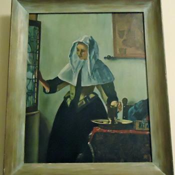 Aunt's Paintings - Folk Art