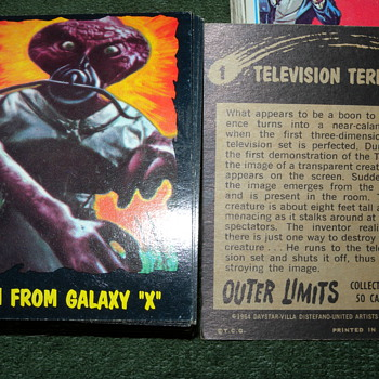 1964 Outer Limits O-Pee-Chee (Topps) Trading Cards