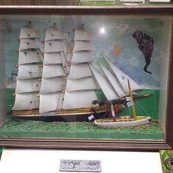 Transitional nautical diorama  - Fine Art
