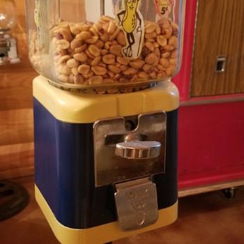 Acorn gumball/peanut machine  - Coin Operated