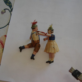 German boy and girl seesaw toy - Toys