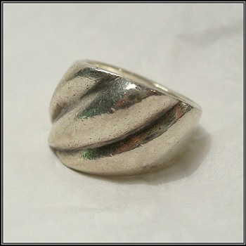 Another Sterling Silver Ring - Fine Jewelry