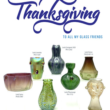 Happy Thanksgiving to one and all - Art Glass