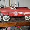 Atkins fire chief peddle car